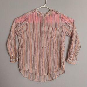 Lucky Brand - Women's Long Sleeve Blouse